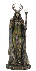 Celtic Elen of the Ways Greenwoman Statue