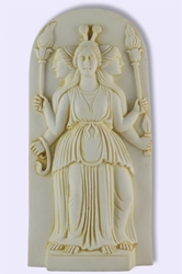 Goddess Hekate Hecate Plaque 6""