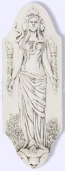 Goddess Hekate Hecate Plaque by Jeff Cullen
