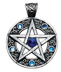 Celtic Pentagram for Willpower and Success Pendant