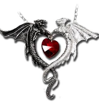 Coeur Sauvage Necklace by Alchemy Gothic