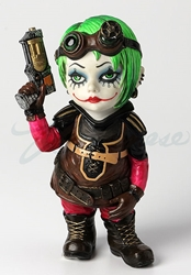 Cosplay Kids Figurines- Steampunk Kid With A Revolver