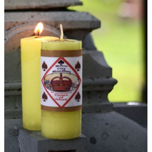 Crown of Glory Motor City Hoo Doo Candle