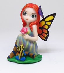 Daydreams and Frog Fairy Figurine by Jasmine Becket-Griffith