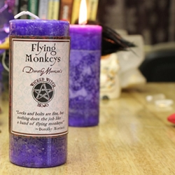 Dorothy Morrison Flying Monkeys Wicked Witch Mojo Candle Dorothy Morrison Flying Monkeys Wicked Witch Mojo Candle