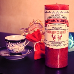 Dragons Blood Witchs Brew Candle