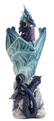 Dread Defender Dragon Statue by Andrew Bill  Dread Defender Dragon Statue by Andrew Bill, Andrew Bill Dragons, Andrew Bill, Collectible Dragons, Collectable Dragons