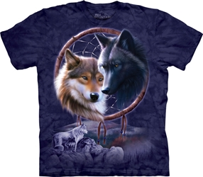 Dreamcatcher Wolves 3268 Tee Shirt