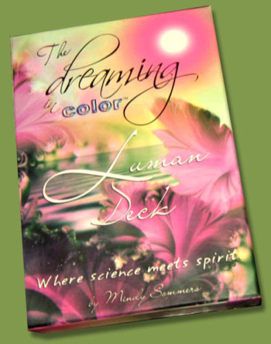 Dreaming in Color Luman Tarot Oracle Deck Self Published by Mindy Sommers