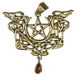 Dryad Designs Viking Dragon Pentacle Pendant  Dryad Designs Dragon Pentacle Pendant, Paul Borda