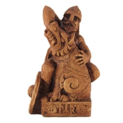 Dryad Designs Seated Tyr Statue by Paul Borda Dryad Designs Seated Tyr Statue by Paul Borda