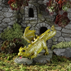 Fairy Garden Little Fetching Dragon