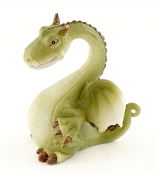 Fairy Garden Miniatures Green Dragon Figurine