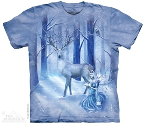 Fairy T-Shirt Frozen Fantasy Adult Tee