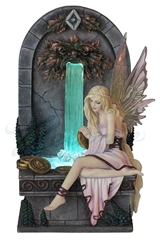 Fairy Wishing Well Statue by Selina Fenech