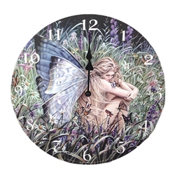 Field of Dreams Clock by Sheila Wolk