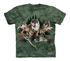 Find 12 Wolves 3448 Wolf T-Shirt