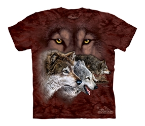 Find 9 Wolves 3459 Wolf T-Shirt