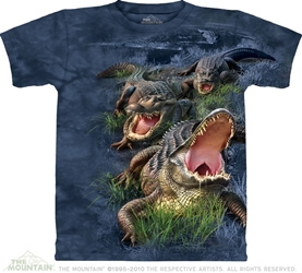 Gator Bog T Shirt Alligator Tee Shirt