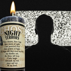 Ghost Candle Night Terrors to help soothe nightmares Limited Edition