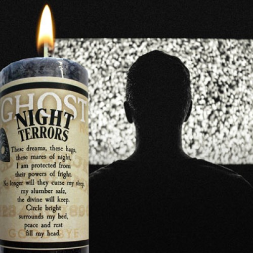 Ghost Candle Night Terrors to help soothe nightmares