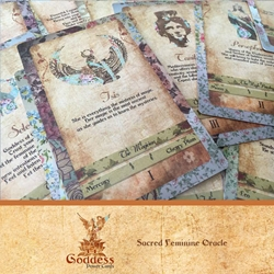 Goddess Power Cards - Sacred Feminine Oracle Cards by Zinnia Gupte