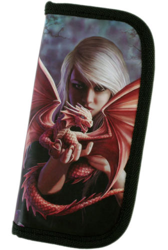 Gothic Billfold Clutch Dragon Kin Wallet by Anne Stokes