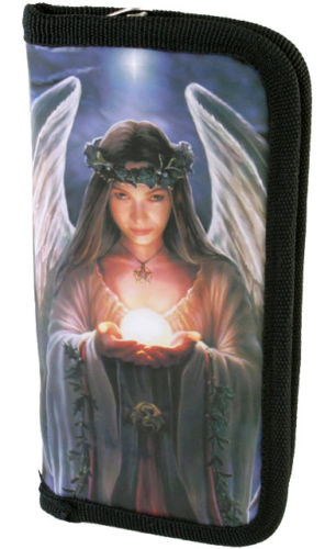 Gothic Billfold Clutch Yule Angel by Anne Stokes Wallet