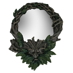 Greenman Mirror Greenman Mirror, Green Man Mirror, Greenman Home Decor, Greenman Statuary