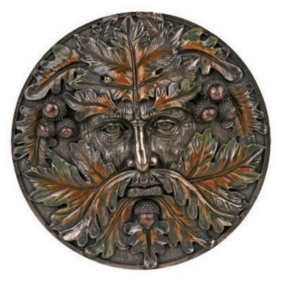 Greenman Season Autumn Plaque YS6850
