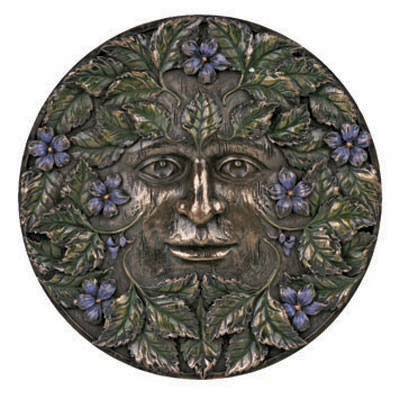 Greenman Season Spring Plaque