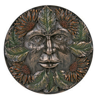 Greenman Season Summer Plaque