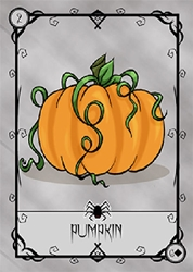 Halloween Lenormand Tarot Deck Self Published by Kendra Hurteau and Karina Rose