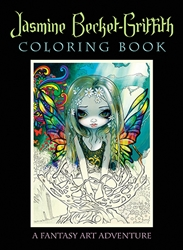 Jasmine Becket-Griffith Strangeling Fairy Coloring Book