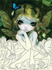 Jasmine Becket-Griffith Strangeling Fairy Coloring Book - JBGCB