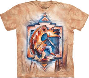Jody Bergsma Just Keep Dancing T-Shirt Kokopelli