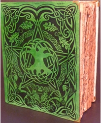 Large Tree of Life Book of Shadows with ancient parchment