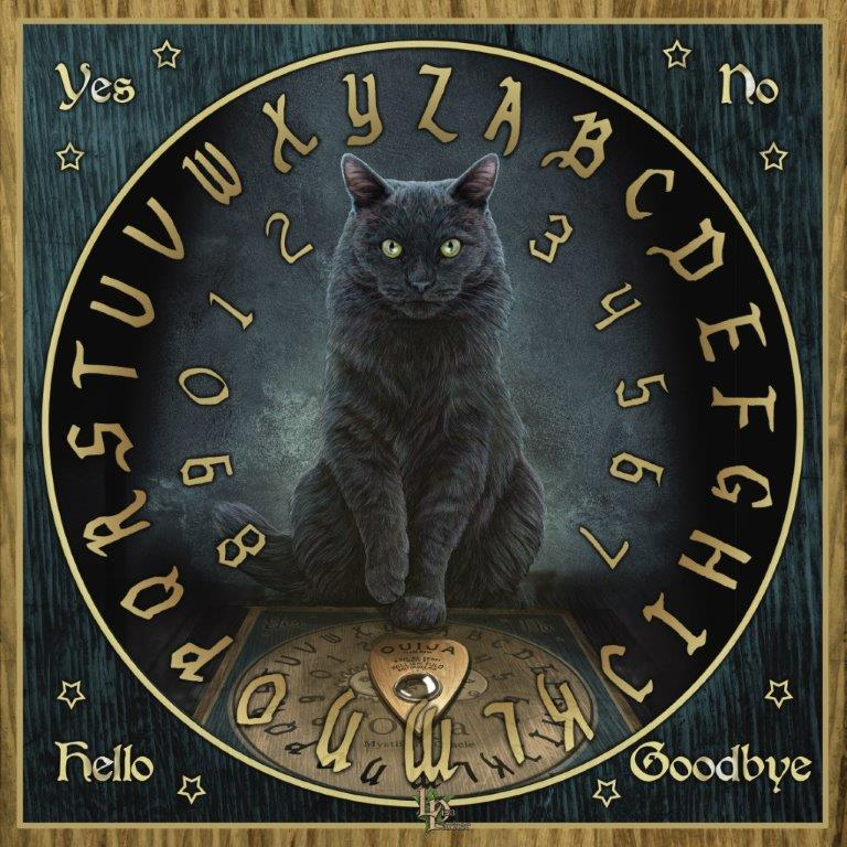 "Lisa Parker's ""His Master's Voice"" Ouija Board"