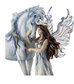 Long Live Magic Fairy & Unicorn Figurine by Jody Bersgma - WU76868AA