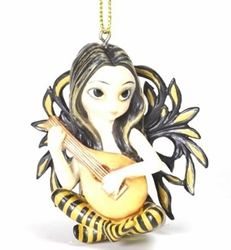 Lute Fairy Ornament by Jasmine Becket-Griffith