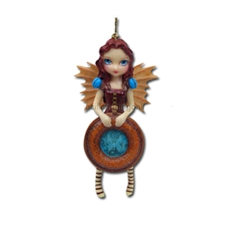 Mechanical Angel I Fairy Ornament by Jasmine Becket-Griffith