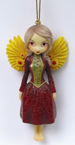 Mechanical Angel II Fairy Ornament by Jasmine Becket-Griffith