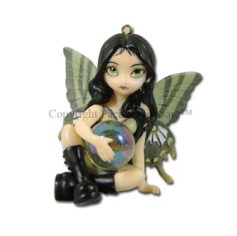 Mildew Fairy Ornament by Jasmine Becket-Griffith