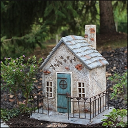 Miniature Dragonfly Hollow Fairy House