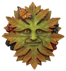 Nature Greenman Wall Plaque