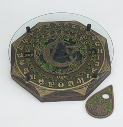 Nemesis Now Black Cat Pentacle Ouija Board