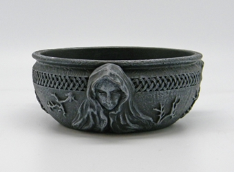 Nemesis Now Maiden Mother Crone Scrying Bowl Triple Goddess