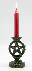 Nemesis Now Pentacle and Ivy Candleholder