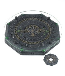 Nemesis Now Tree of Life Pentagram Ouija Board