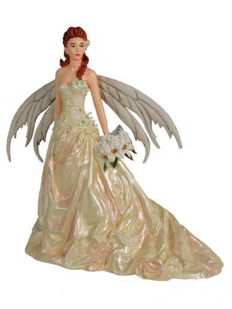 Nene Thomas Fairy Cake Topper Bride 2